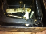 Unrestored ECO Model 37 tiremeter mechanism 7